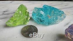 Monatomic Andara Crystal lot 285 gr 8 piece cosmic oracle crystal set