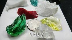 Monatomic Andara crystals 124 Gr. 12 piece healing attunement set