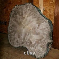 Museum-Grade 34 Crystal Table Slab Agate Slice Polished and Show Piece Specimen