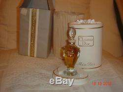 NEW Vintage DIOR MISS DIOR PERFUME PARFUM Baccarat Crystal AMPHORA MUSEUM PIECE