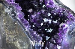 Natural Amethyst Geode XL Piece. CBP0133