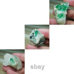 Natural Emerald Specimens. 1365 g, 48 pieces