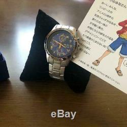 ONE PIECE 20th Anniversary Limited Watch wristwatch quartz Japan Luffy Movement