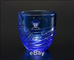 ONE PIECE Monkey D. Luffy East Blue Edo Crystal Glass Japan Anime Limted