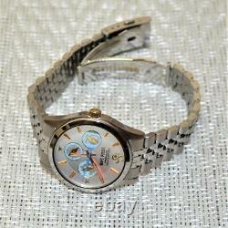 One Piece Nami Official Unisex Watch Silver Stainless Steel Band Japan Quartz