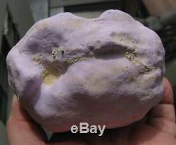 PHOSPHOSIDERITE PINK to PURPLE BOTRYOIDAL CRYSTALS from CHILE. MASTER PIECE
