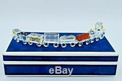 Preciosa Crystal Train set of 8 Pieces with Original Box