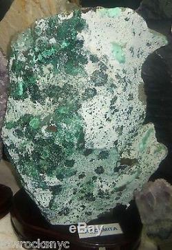Precious ATACAMITE Mineral Specimen 20 Kg = 44 Lbs COLLETOR PIECE