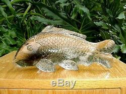 Quartz Crystal Carved Fish Beauitful, Collector Piece -NEW PRICE