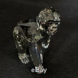 RARE Retired Swarovski Crystal SCS 2009 Gorilla Cub Companion Piece 955440 Mint