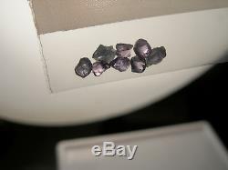 Rare ALEXANDRITE rough 1.00ct 8 piece gemmy Russia gem Color Change Green Purple