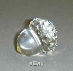 Rare Vintage Swarovski Crystal Acorns Lot Of 10 Pieces