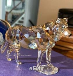 Retired Gray Wolf Scs Member Piece 2019 Swarovski Crystal 5428544