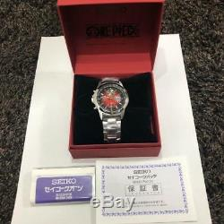 SEIKO × ONE PIECE 20th Anniversary Watch (Limited 5000) Premium Collection F/S