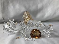 SWAROVSKI CRYSTAL DISNEY Lion King Six Pieces Set