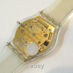 SWATCH Watch Golden Jelly SKIN 1998 SFK101 Collector Piece