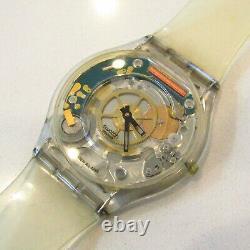 SWATCH Watch Jelly Skin SKIN 1997 SFK100 Collector Piece