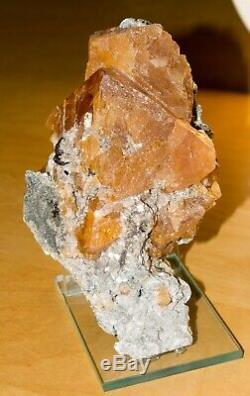 Scheelite with Cassiterite Museum piece