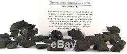 Shungite Raw 1 Kilo 400-600 Pieces Electromagnetic Protection
