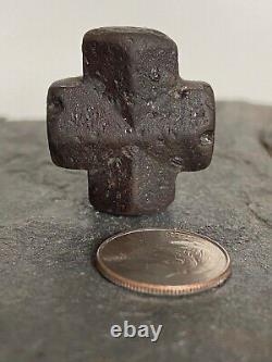 Staurolite & Garnet healing crystal -Fairy Cross Specimen, Taos (1 piece), Rare