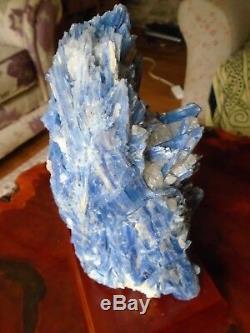 Stunning huge Blue Kyanite specimen, 4.3 kg, great statement piece