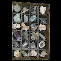 Superb Wholesale Mixed Mineral Flats (54PCs) @ $2.50 Each Piece # FLAT03