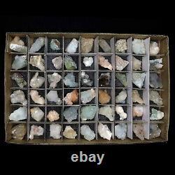 Superb Wholesale Mixed Mineral Flats (54PCs) @ $2.50 Each Piece # FLAT10