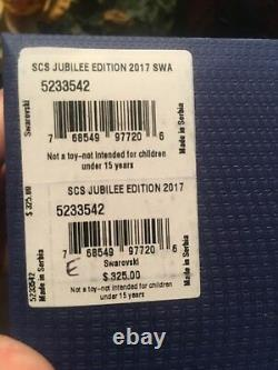 Swans Scs Jubilee Edition Members Piece 2017 Swarovski Crystal 5233542