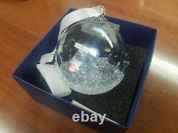 Swarovski Christmas Ball Ornament 2015 Limited Crystal Retired Piece