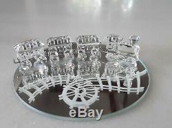 Swarovski Crystal 4 Piece Mini Train 7471 NR 400 000 New in Box with COA