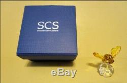 Swarovski Crystal Figurine SCS Event Piece Bumble Bee On Flower 5244639 NIB