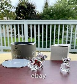 Swarovski Crystal Figurine Sets including Chicken family, pig fam, frogs, turtle