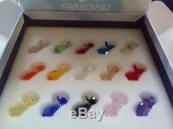 Swarovski Crystal Love Lot MINI MO SET of 15 Pieces, LE RETIRED 2015