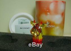 Swarovski Crystal Lovlots Santa and Hot Chili Mo 2 Pieces Limited Edition BNIB