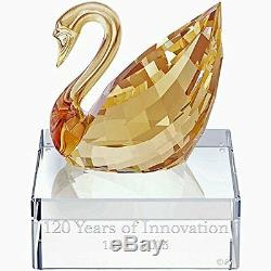 Swarovski Crystal SCS Swan Event Piece 2015 120 Years of Innovation, NIB