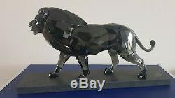 Swarovski Crystal, SCS The Lion, Lim-Ed 1000 Pieces, Art No 5526677 No 81/1000