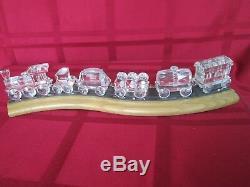 Swarovski Crystal Train complete set (7 pieces)
