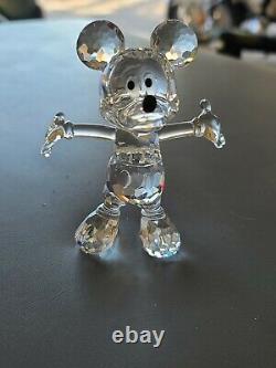 Swarovski Disney Mickey Mouse Showcase Collection Complete 7 Piece Set