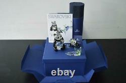 Swarovski Yearly Scs Piece Pandas-retired 2008-mint In Box