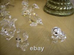 Swarovski crystal lot 13 pieces