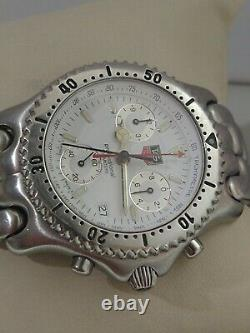 Tag Heuer Sel Chronograph Ref Cg1112 Quartz Collectible Piece Swiss 200 Meters