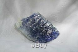 Tanzanite is calming and soothing Beautiful color, Large Piece