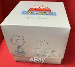 The Crystal World PEANUTS LE Piece TYPING SNOOPY in Box withCOA