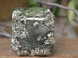 The Cube Formation Pyrite Crystal Collectors Piece Rare and Unique