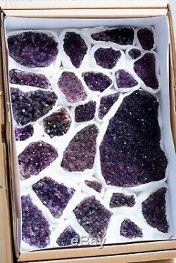 Top Class! Amethyst Crystals Specimen Lot Of 27 Pieces From Alacam, Turkey