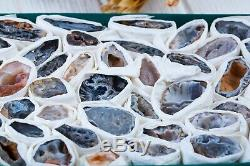 Top Quality Agate Lot Of 48 Pieces