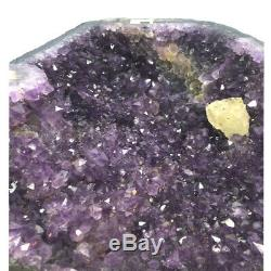 Unique Amethyst Cave with Calcite Dark colour Amethyst, one off piece
