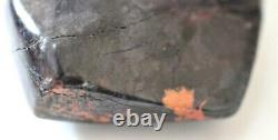 VERY LARGE POLISHED SUGILITE, BUSTAMITE, PYROLUSITE PIECE 201 gms 8.8 x 5 cms