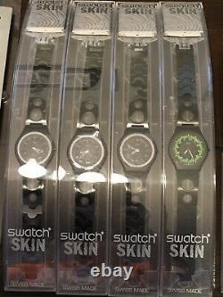 Vintage Swatch watch Collection 60 Pieces Including Chrono And Scuba Styles