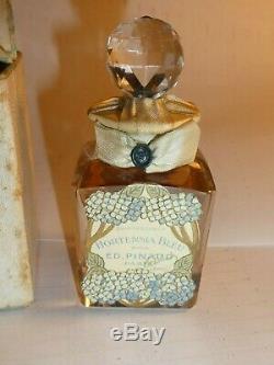 Vtg 1903 SEALED BACCARAT Ed Pinaud Perfume Parfume CRYSTAL BOTTLE Museum Piece